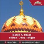 kontraktor kubah masjid galvalum enamel grc krawangan grc