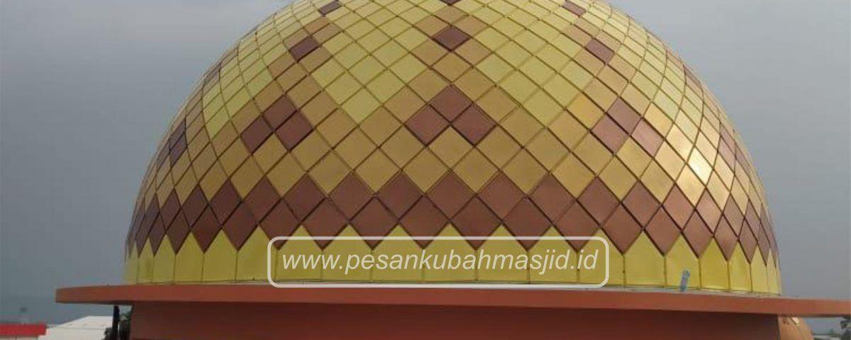 kubah masjid enamel