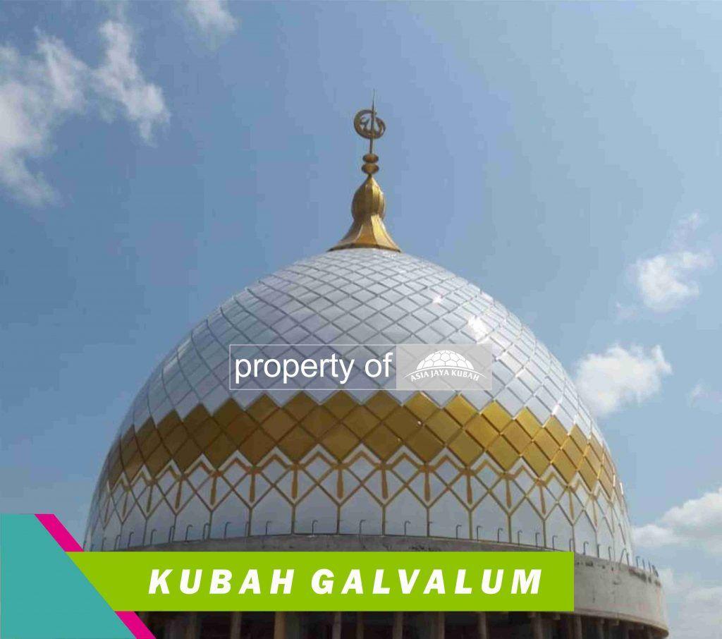 Produsen Kubah Masjid GRC di Hulu Sungai Utara